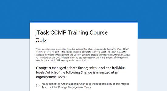 CCMP quizzes image